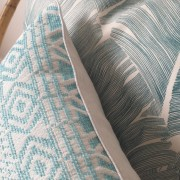 coussin Feathers4:Blue D
